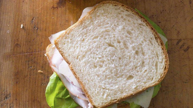 Le serveur a été mortellement blessé à cause d'un simple sandwich (illustration).