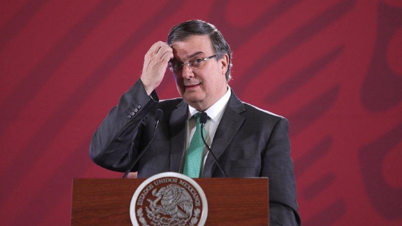 Marcelo Ebrard, le ministre des Affaires étrangères mexicain, compte insister sur la stratégie de développement économique de l'Amérique centrale pour combattre l'immigration.
