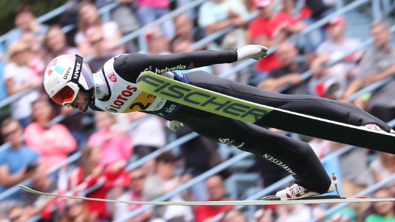 Saut à ski: le Vaudois Killian Peier réussit deux gros sauts à Zakopane