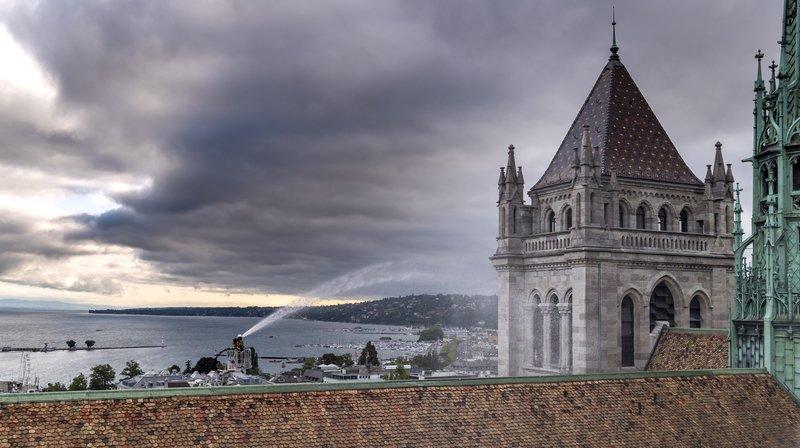 L'incendie de Notre-Dame inspire les pompiers genevois