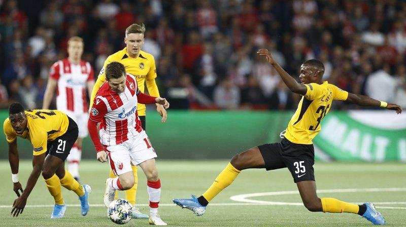 Football – Ligue des champions: Young Boys concède un nul contre Etoile Rouge de Belgrade