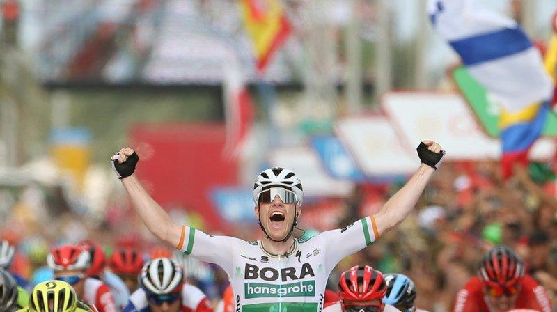 L'Irlandais a battu ses adversaires au sprint.