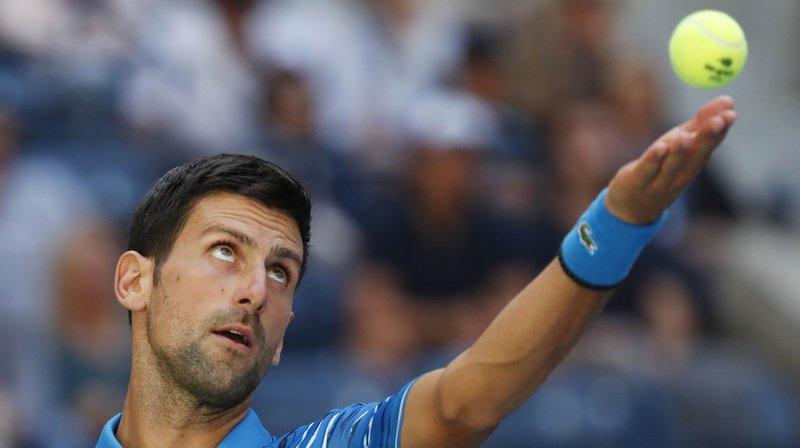 Novak Djokovic s'est imposé 6-4 6-1 6-4 devant Roberto Carballes Baena.