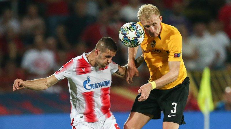 Les Bernois ont échoué en barrage retour, en faisant 1-1 à Belgrade contre l'Etoile Rouge.