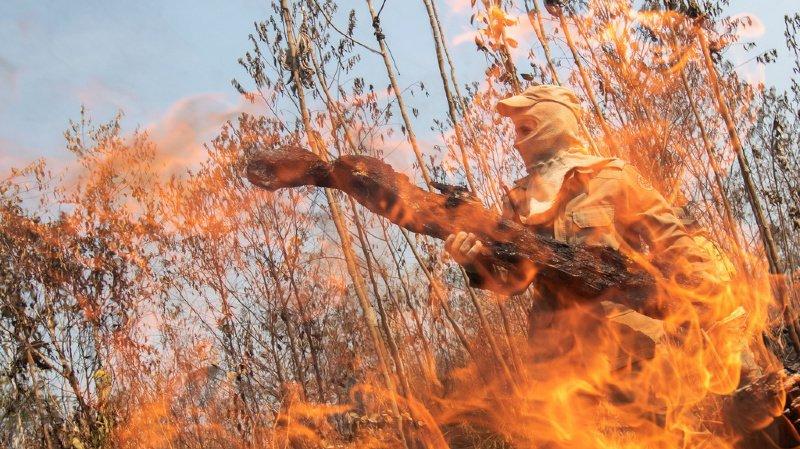 Amazonie: les feux progressent au Brésil malgré l'interdiction des brûlis et l'intervention de l'armée