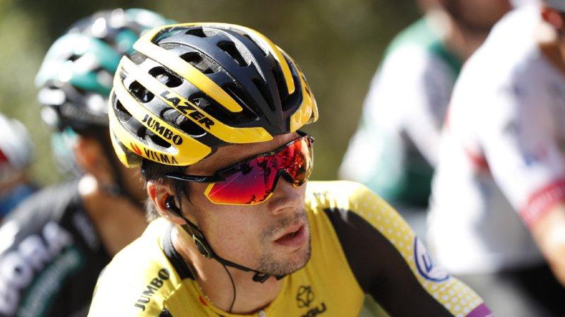 Cyclisme – Tour d'Espagne: victoire de Primoz Roglic qui enfile le maillot rouge