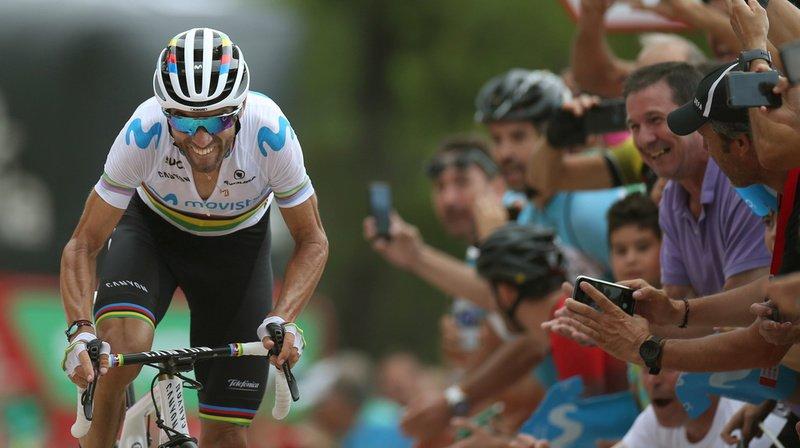 Cyclisme – Tour d'Espagne: à 39 ans Valverde remporte sa 14e étape sur la Vuelta, Lopez reste en rouge