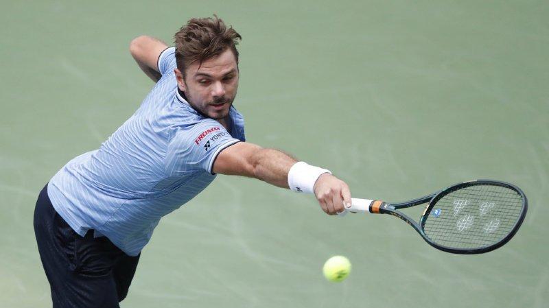 Tennis – US Open: Wawrinka se hisse en quarts de finale après l'abandon de Djokovic