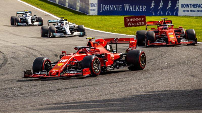 Formule 1: première victoire pour Charles Leclerc (Ferrari) qui remporte le GP de Belgique