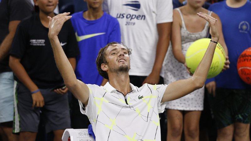 Tennis – US Open: Wawrinka va affronter Medvedev, le joueur le plus détesté du public