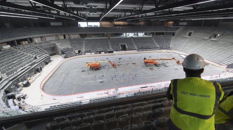 La nouvelle patinoire de Lausanne bientôt terminée