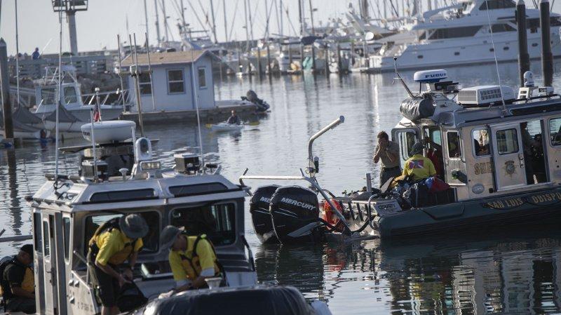 Etats-Unis: 20 corps retrouvés après l'incendie d'un bateau en Californie
