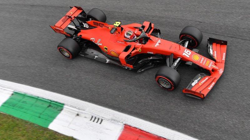 Charles Leclerc offre à Ferrari sa première victoire en Italie depuis 2010.