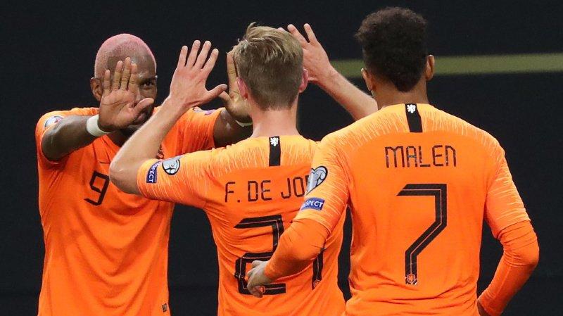 Cette victoire permet aux Pays-Bas de se relancer dans un groupe C qui voit pour l'instant... L'Irlande du Nord occuper la tête du classement.