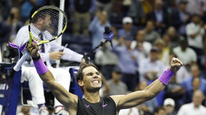 En battant Medvedev, Nadal remporte son 19e titre du Grand Chelem. Il n'est qu'à une unité de Federer.