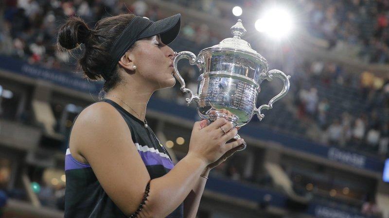 Tennis – US Open: la Canadienne Bianca Andreescu, 19 ans, remporte la finale face à Serena Williams