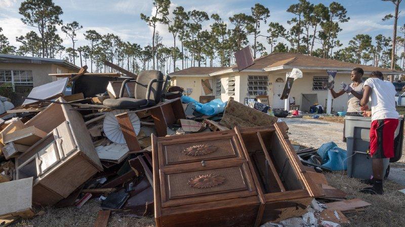 Intempéries: après le passage de l'ouragan Dorian, les Bahamas doivent faire face à une longue crise humanitaire