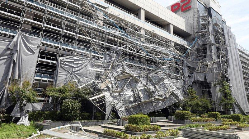 Intempéries: le typhon Faxai fait un mort, des blessés et provoque d'importants dégâts au Japon