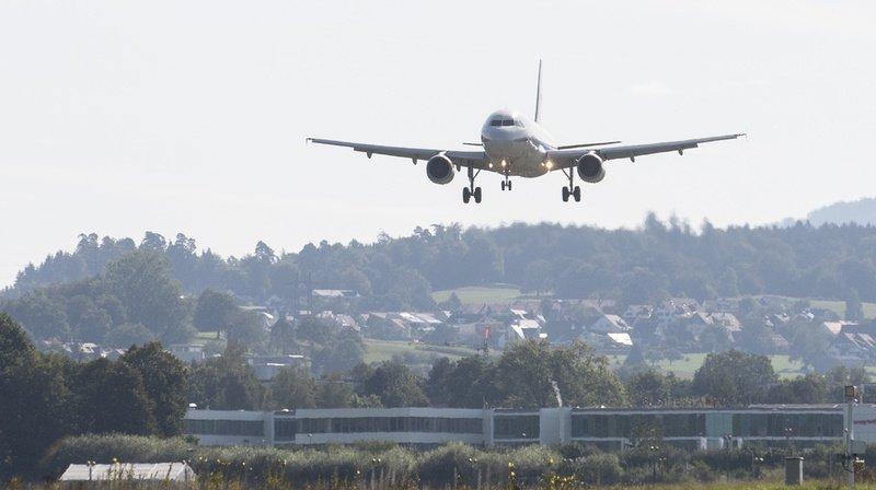 Zurich: vers des avions émettant moins de bruit et de CO2 lorsqu'ils s'approchent des aéroports