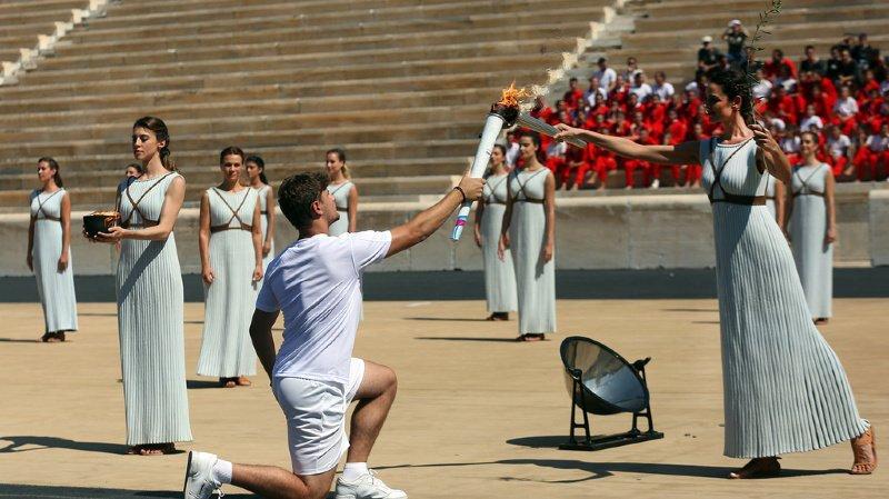 JOJ 2020: la flamme des Jeux olympiques de la jeunesse a été allumée à Athènes
