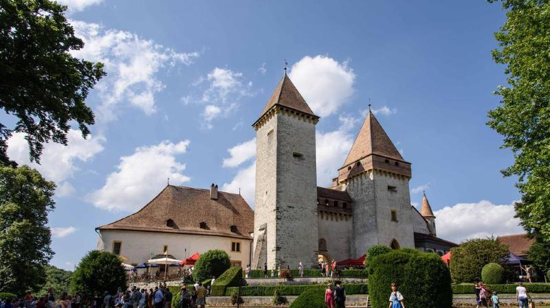 Le château de La Sarraz au cœur des Journées européennes du patrimoine