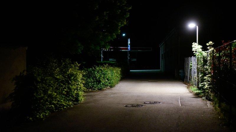 Le Vaud testera les nuits sans éclairage public