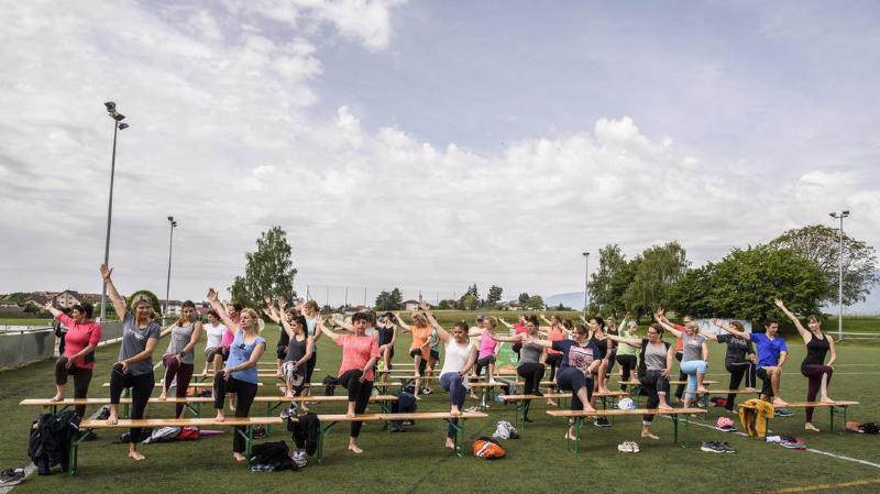 Nyon: le festival des sports s'adapte aux personnes en situation de handicap
