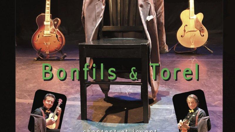 Trio à Deux-Bonfils & Torel chantent Ricet Barrier