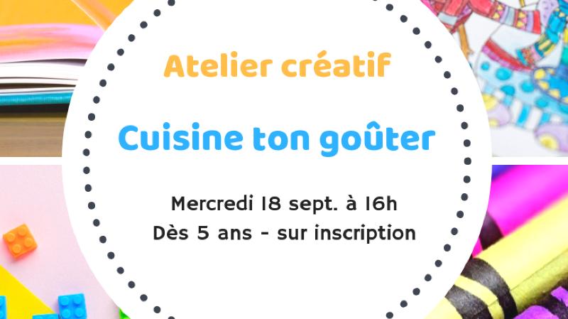 Atelier créatif spécial cuisine !