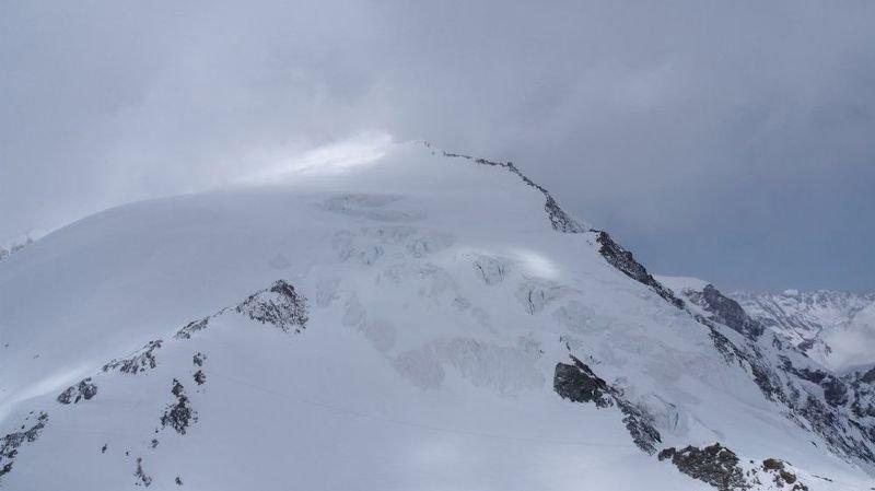 Les randonneurs s'étaient perdus à cause d'une violente et soudaine tempête vers le Pigne d'Arolla.