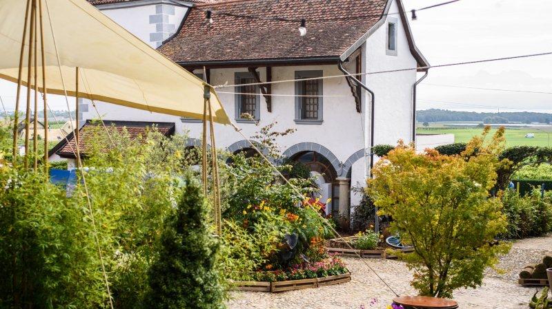 Le château de Duillier accueille un feu d'artifice floral jusqu'à lundi
