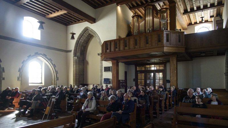 L'orgue du temple d'Aubonne doit être rénové.