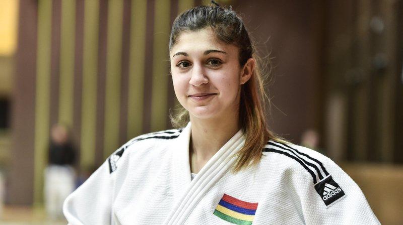 En dépit de son élimination dès le 1er tour, Priscilla Morand va revenir du Japon avec le sourire.