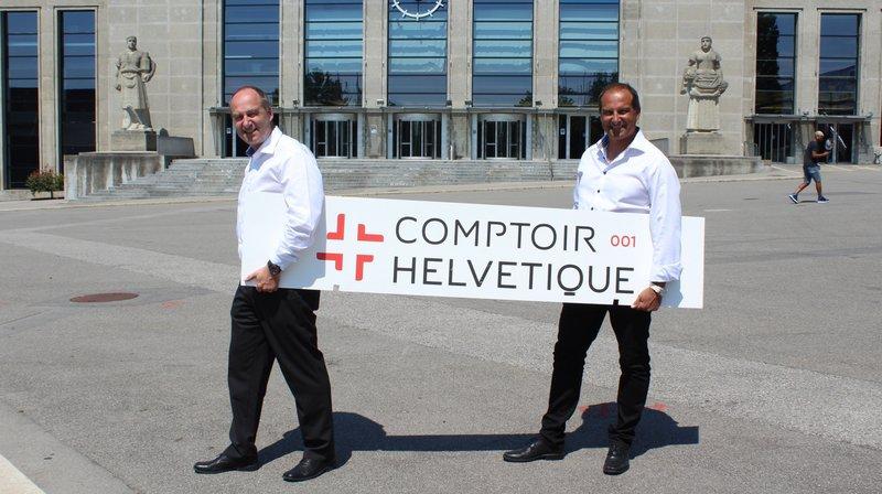 David et Richard Chassot se sont donnés un défi: faire revivre un comptoir à Beaulieu.