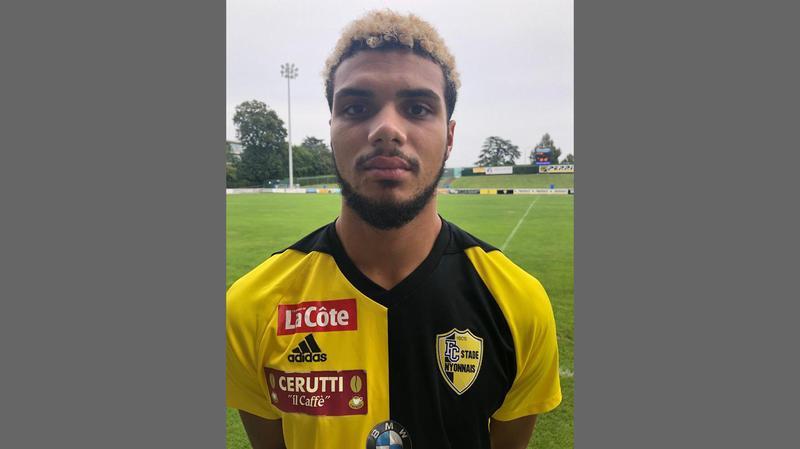 Adler Da Silva, attaquant gaucher, a signé au Stade Nyonnais.