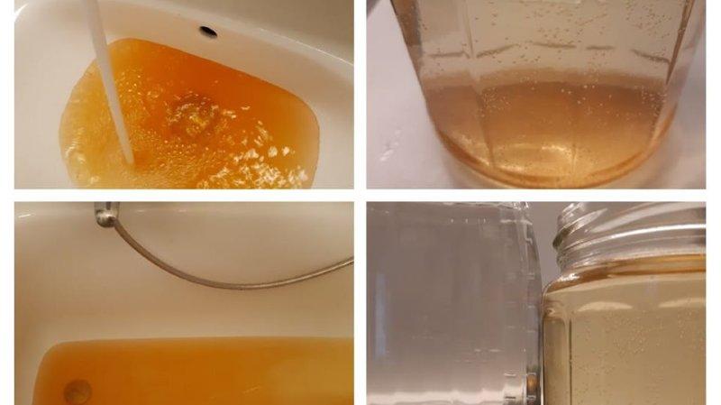 Une habitante de Nyon a trouvé son eau peu attrayante.