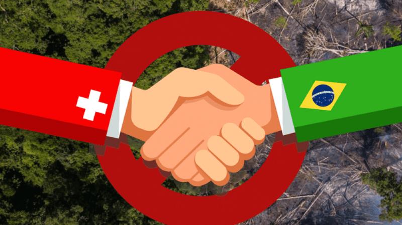 Suisse-Brésil: pétition contre un accord de libre-échange avec le Mercosur
