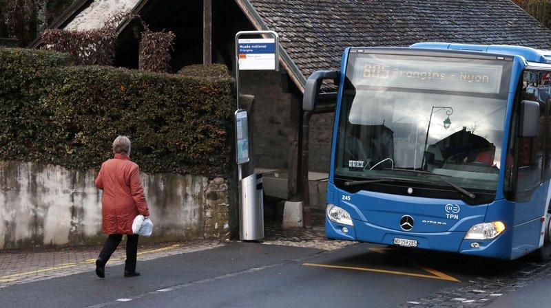 Frictions entre Nyon et Prangins autour d'une ligne de bus