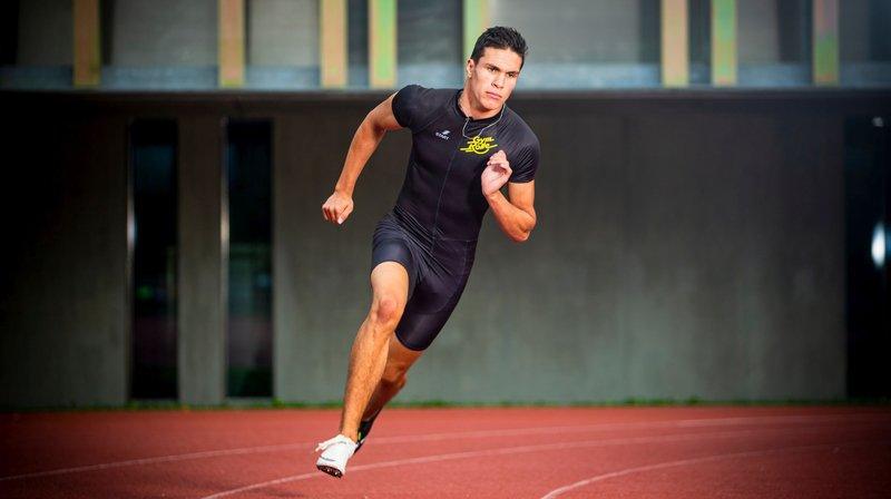 Un an d'athlétisme et déjà parmi l'élite du sprint helvétique