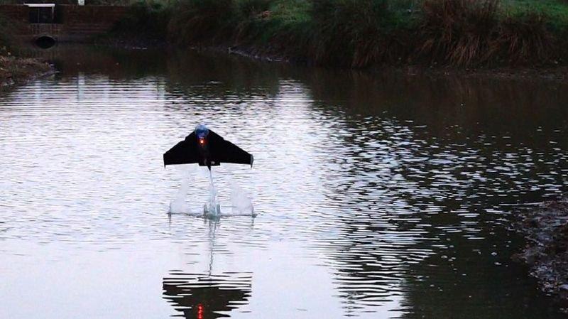 Le robot «Poisson volant» peut plonger et voler
