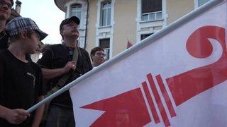 Les autonomistes dans les rues pour dénoncer l'invalidation du vote à Moutier