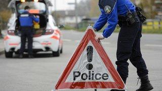 Vaud: un motard grièvement blessé héliporté au CHUV