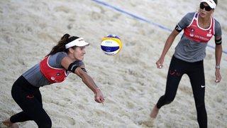 Beach-volley: la paire suisse Heidrich/Vergé-Dépré remporte le tournoi de Moscou