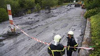 Valais: des débris de la voiture des deux disparus de Chamoson ont été retrouvés