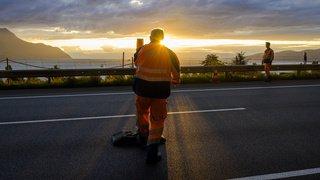 L'entretien des routes nationales a coûté 347 millions en 2018
