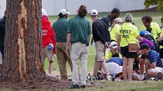 Atlanta: la foudre blesse six personnes sur un terrain de golf lors de l'US Championship
