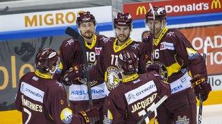Hockey: Genève et Lausanne s'imposent, Bienne perd durant la prolongation