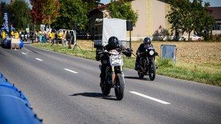 A Chéserex, les motos sprinteuses ont fait fureur