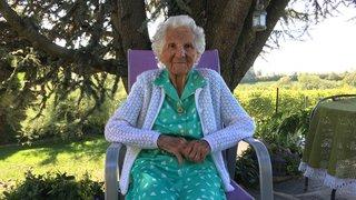 Lavigny: femme soldat durant la guerre, elle souffle ses 100 bougies