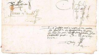 Genève récupère une fiche de paie signée par Jean Calvin